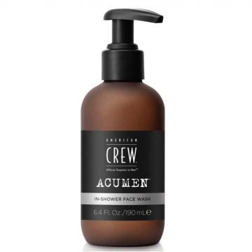 AMERICAN CREW ACUMEN IN-SHOWER DAILY FACE WASH 190 ML.