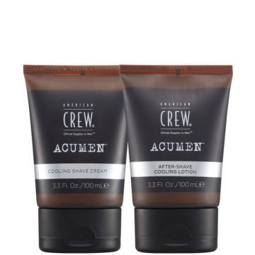 ACUMEN SHAVING DUO KIT - COOLING SHAVE CREAM 100 ML. & AFTER SHAVE COOLING LOTION 100 ML.