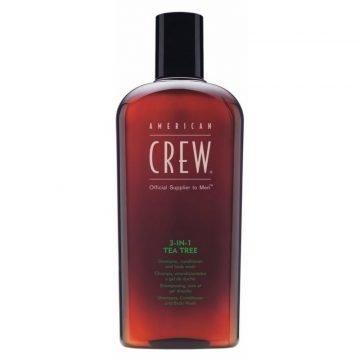 AMERICAN CREW 3 IN 1 TEA-TREE 450 ML.