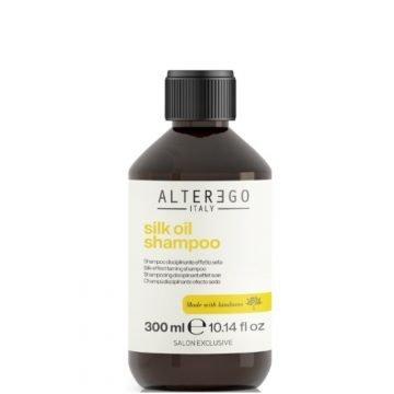 SILK OIL SHAMPOO 300 ML.