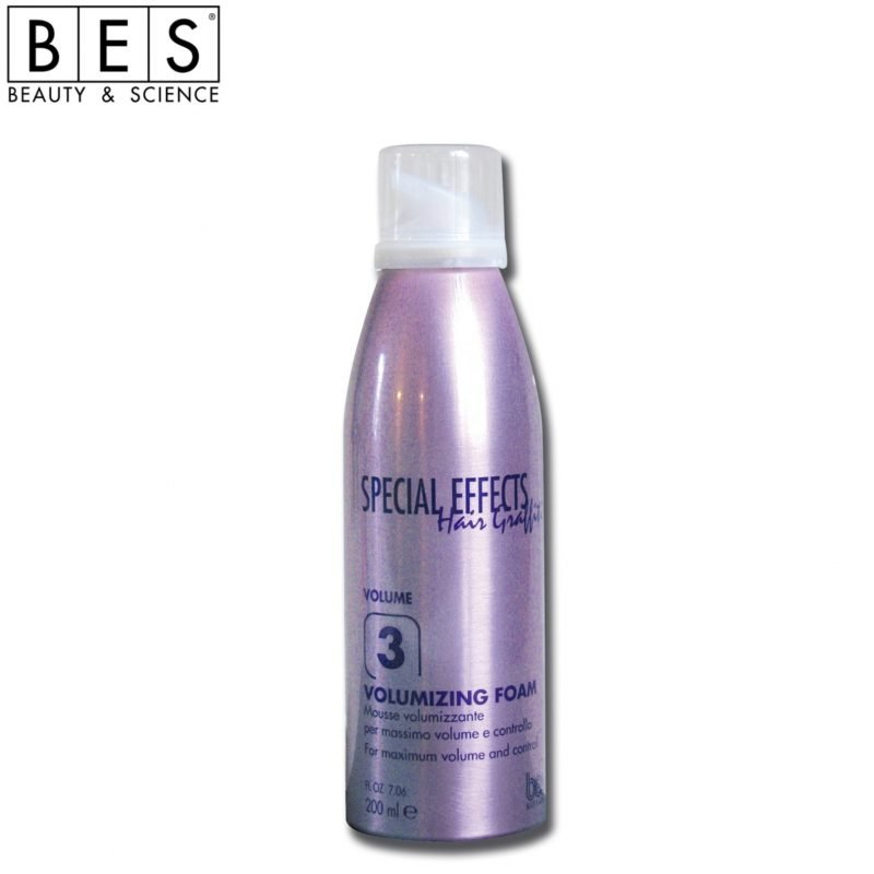 HAIR GRAFFITI SPECIAL EFFECTS 3 MOUSSE VOLUMIZZANTE 200 ml.