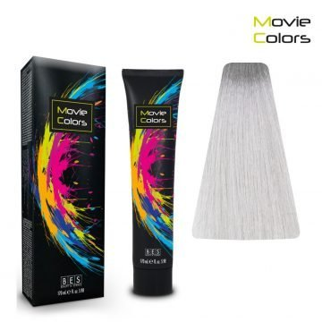 BES MOVIE COLORS SILVER 170 ML.