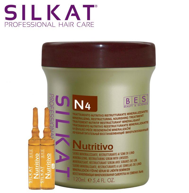 SILKAT PHC NUTRITIVO SIERO MINERALIZ. N4 12x10 ML.