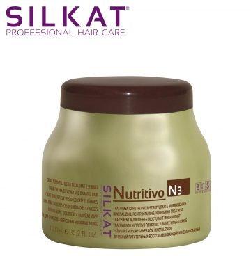 SILKAT PHC NUTRITIVO MASK CAP. SECCHI N3 1000 ML