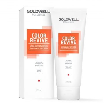 DUALSENSES COLOR REVIVE COLOR GIVING CONDITIONER WARM RED 200 ML.