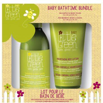 KIT BABY BATHTIME BUNDLE LINEA NEONATI SHAMPOO + BODY LOTION
