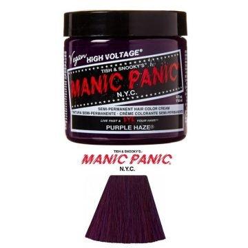 MANIC PANIC CLASSIC SEMI PERMANENT PURPLE HAZE 118 ML.