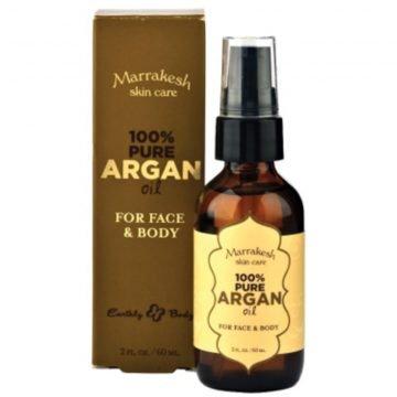 MARRAKESH 100% PURE ARGAN OIL FOR FACE & BODY 60 ML.