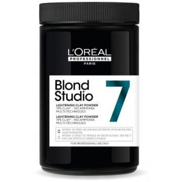 BLOND STUDIO LIGHTENING CLAY POWDER NO AMMONIA 7 LEVEL 500 GR.