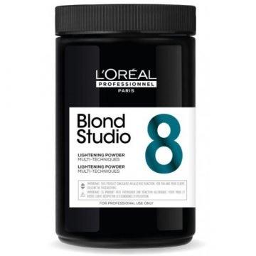 BLOND STUDIO LIGHTENING POWDER MULTI TECHNIQUES 8 LEVEL 500 GR.