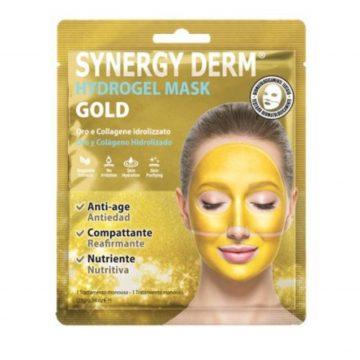 SYNERGY DERM HYDROGEL MASK GOLD 1 TRATTAMENTO MONOUSO 25 GR.