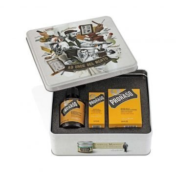 PRORASO BEARD KIT AD ONOR DEL MENTO WOOD AND SPICE