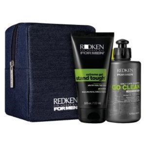BARBER KIT FOR LONG HAIR: GO CLEAN SHAMPOO + STAND TOUGH EXTREME GEL