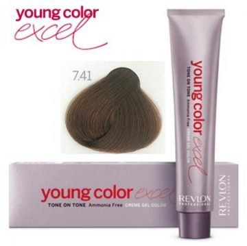 YOUNG COLOR EXCEL 7.41 70 ML