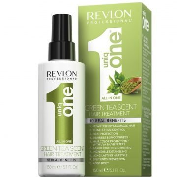 UNIQ ONE 10 IN 1 GREEN TEA HAIR TREATMENT 150 ML.