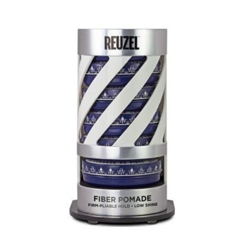 REUZEL EXPO GRAVITY FEED FIBER POMADE (6 POMADE + EXPO OMAGGIO)