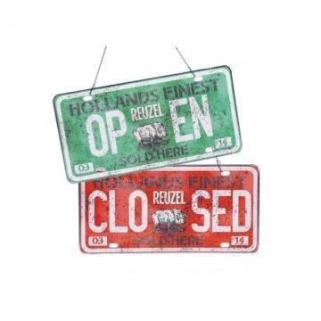 REUZEL CARTELLO OPEN/CLOSED