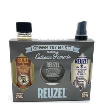 REUZEL GROOM TRY ME KIT FEATURING EXTREME POMADE